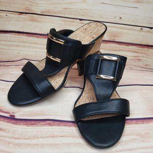 Aerosoles Women's Sandal black Size 6 1/2M